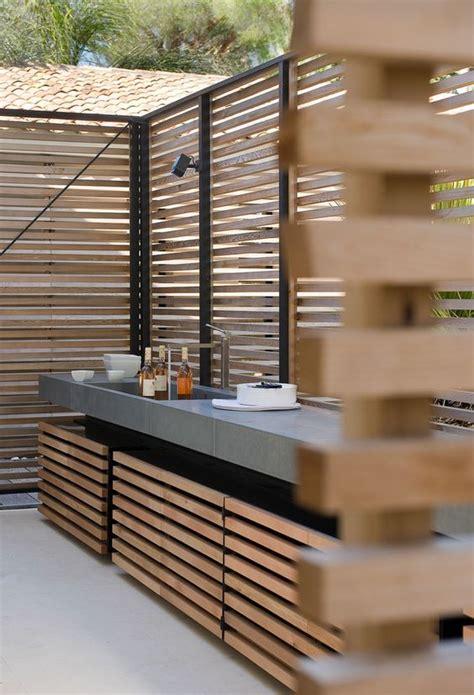 cuisine exterieure moderne cuisine extérieure balcon terrasse
