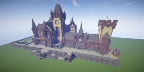 drachenburg castle schloss drachenburg minecraft building