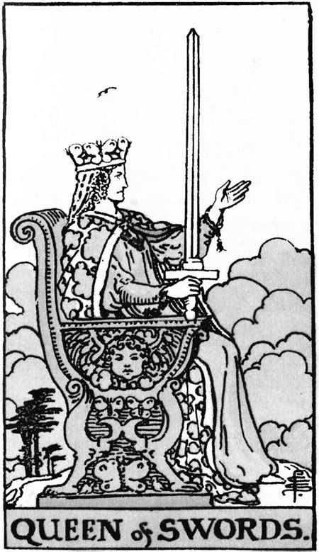 Queen of Swords Art and Meaning: Queen of Tarot