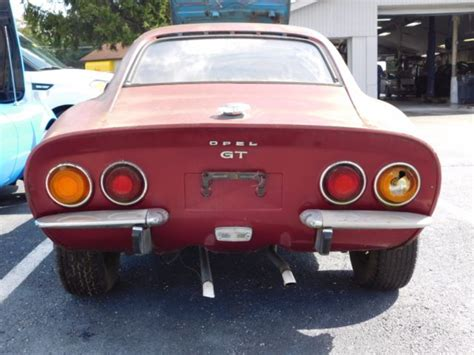 Opel Gt Parts by 1972 Opel Gt With Parts Car Buy One Get One Free