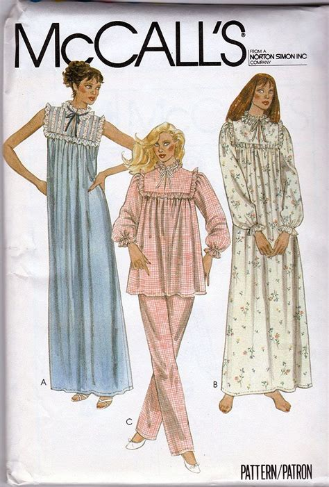 womens sleepwear patterns images  pinterest