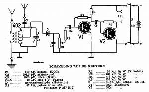 Amroh Neutron Two Transistor Radio Sch Service Manual