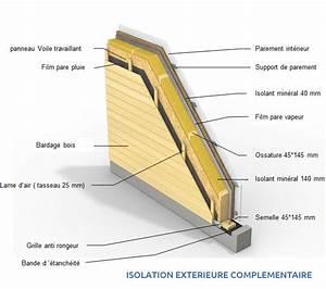 Epaisseur Mur Ossature Bois : beautiful epaisseur enduit exterieur 6 03 detail ~ Melissatoandfro.com Idées de Décoration