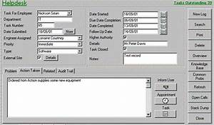 ms access helpdesk ticketing system ms access databases With microsoft access help desk template