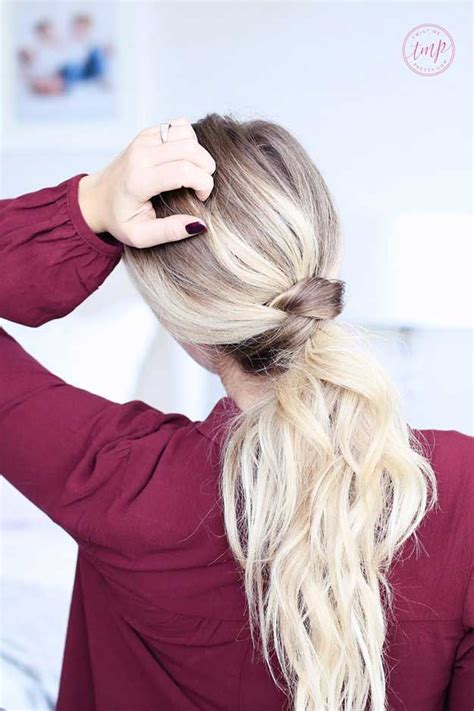 Cool Easy Ponytail Hairstyles by Best 25 Easy Ponytails Ideas On