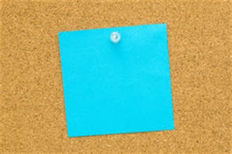 blank blue post  note stock image image