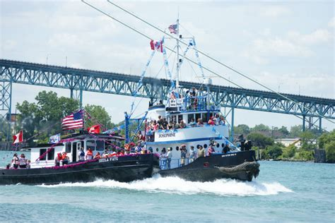 Tug Boat Race Windsor by Photos 36th Annual International Windsor Detroit Tug Boat