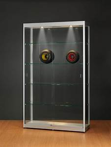 Petite Vitrine En Verre : vitrine armoire en verre trempe sv120 ~ Dailycaller-alerts.com Idées de Décoration