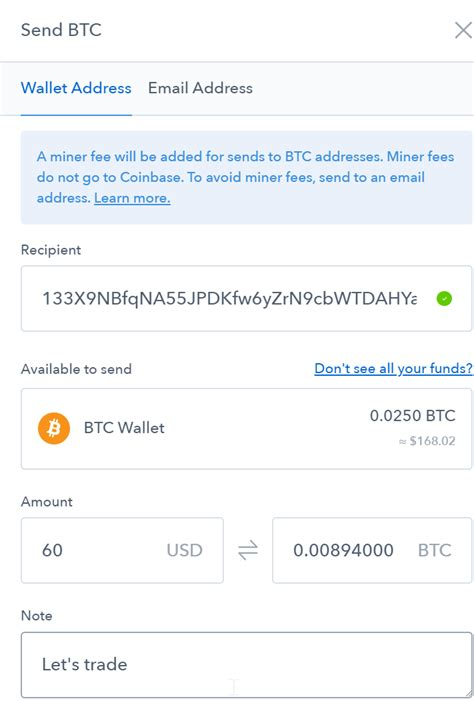 Go to coinbase to whichever currency you will be transferring and click receive (this will bring up a wallet address) 2. How to transfer cryptos from Coinbase to Binance?