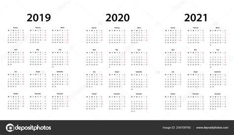 simples modelo calendario vetores de stock