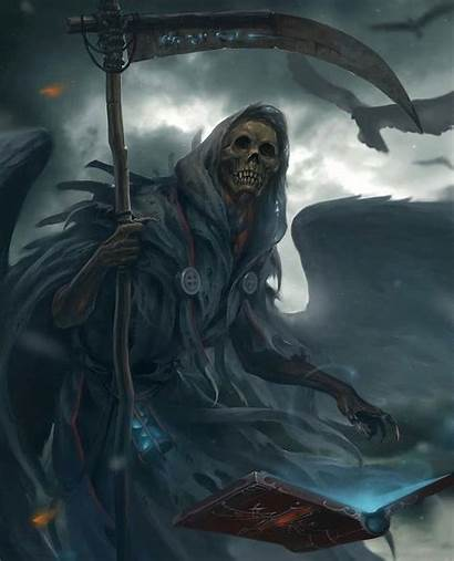 Anime Angel Reaper Grim