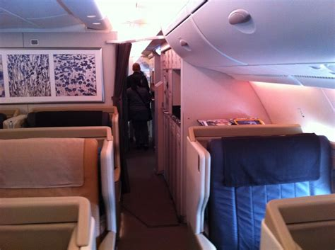 singapore airlines trip report sq  business class fra