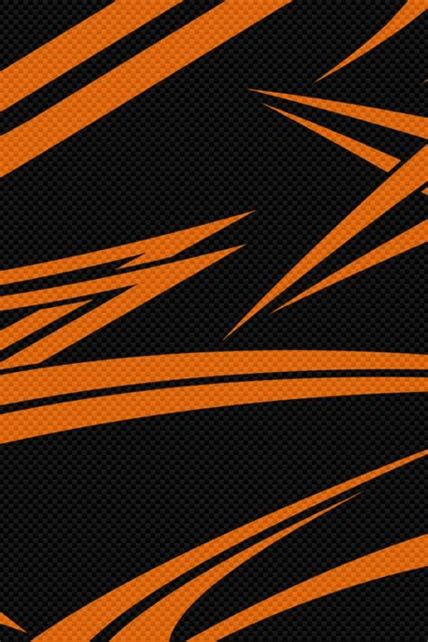 Black Orange Wallpaper For Iphone by 640x960 Black Orange Carbon Iphone 4 Wallpaper