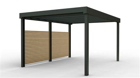 Our carports and verandas come in a variety of styles and colours and can be incorporated into one of our conservatory designs or standalone on the side of your house. Contemporary carports and shelters launch in the U.K ...