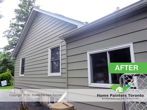 toronto aluminum siding painting house painting services