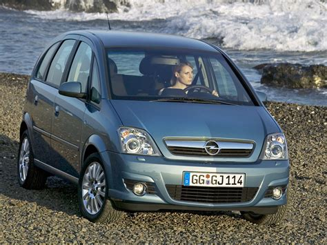 Opel Meriva by 2006 Opel Meriva A Pictures Information And Specs
