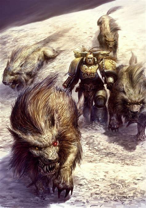 fenrisian wolf warhammer  fandom powered  wikia