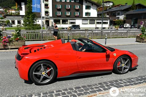 Of course, the spider is still heavier than the hardtop, and some of that amazing speed and handling is therefore compromised. Ferrari 458 Spider - 30 August 2020 - Autogespot