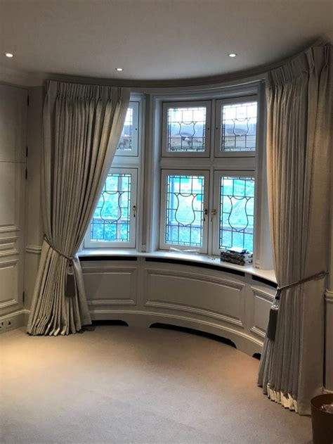 bay window curtains  curtains london curtain ideas