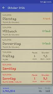 Verdienst Berechnen : stunden rechner pro android apps on google play ~ Themetempest.com Abrechnung