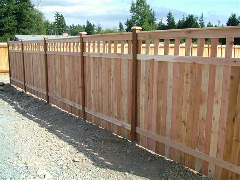 wood fence styles inexpensive alternative design for craftsman style privacy fence craftsman privacy fence