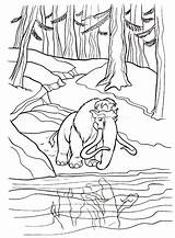 River Coloring Pages Nature sketch template