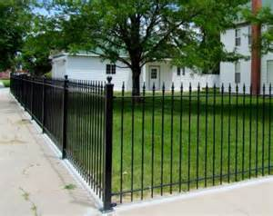 Wrought Iron Fence Picture Idea The Dramatic Fence Designs For Your Front Yard