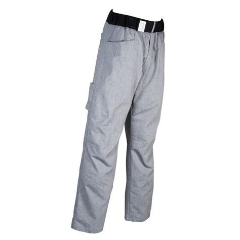 magasin de vetement de cuisine pantalon boulanger patissier arenal gris chiné robur