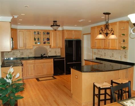kitchen ideas with oak cabinets tag for tile kitchen floor ideas with oak cabinets
