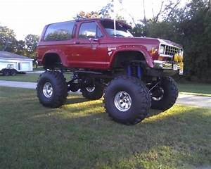 Baby Monster Truck '85 ford Bronco II Big block for sale - Ford Bronco II 1985 for sale in ...