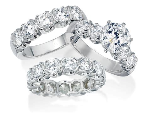 wedding band set his and hers wedding bands for wardrobelooks com