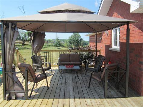 metal construction brackets gazebo  deck gazebo plans