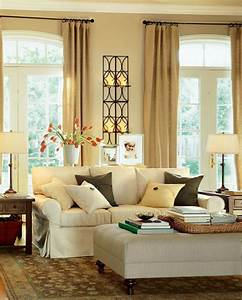 modern warm living room interior decorating ideas by With decoration idea for living room