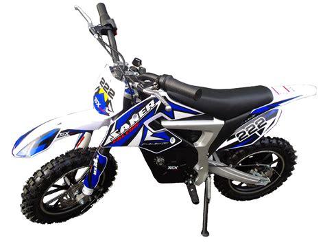 Mini Moto Cross Dirt Bike Bleu