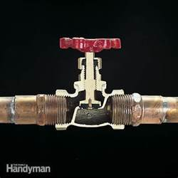 Smart Placement Different Types Of Plumbing Valves Ideas by Plumbing Valve Basics The Family Handyman