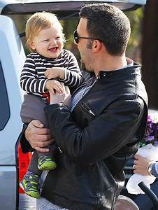 Ben Affleck and son Samuel w/ more pics