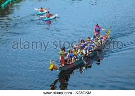 Dragon Boat Festival 2018 In London by Quot Dragon Boat Quot Racing On The Canal In Birmingham Uk Stock