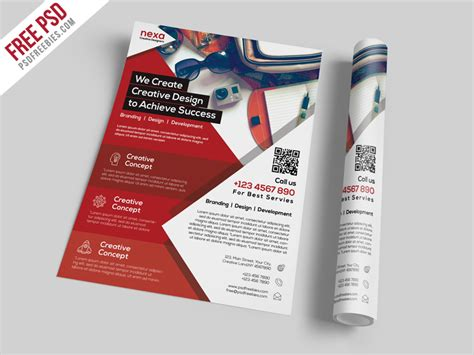 50+ Business / Corporate Flyer Psd Templates With