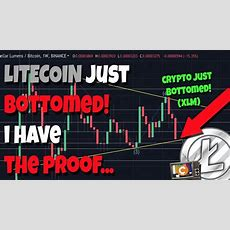 Proof Litecoin Just Bottomed, Only Up From Here? Stellar