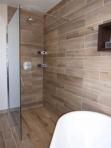 mco productions salle de bains douche a litalienne With porte de douche coulissante avec vasque salle de bain avec meuble castorama
