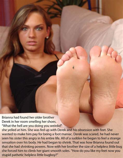 Giantess Sister Feet Crush