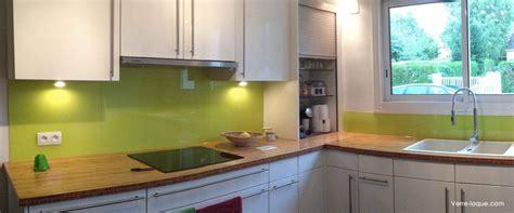 credence de cuisine en verre crédence en verre laqué pour votre cuisine verre laque com