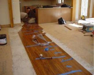 bamboo flooring installation installing bamboo floors