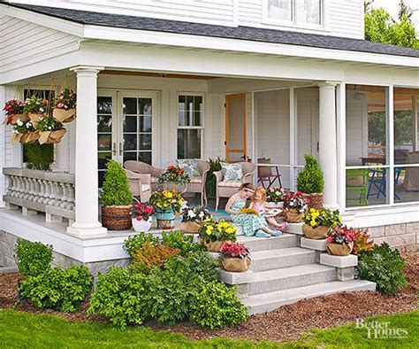 Back Porch Landscaping Ideas by Remodeling Projects That Add Big Value In 2019 Bhg S