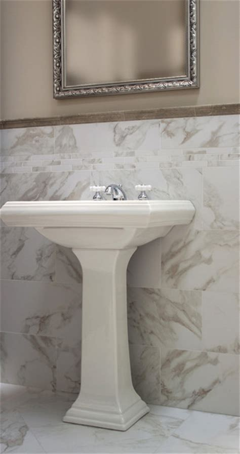 marble look porcelain tile bathroom tile design