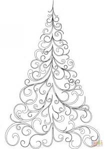 coloring pages christmas tree colouring pictures christmas tree coloring pages to print free