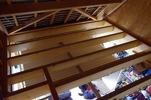 Faire Un Plancher Bois : am nagement grenier plancher isolation ~ Dailycaller-alerts.com Idées de Décoration