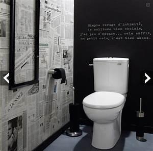 les 25 meilleures idees de la categorie deco wc original With decoration de toilette original