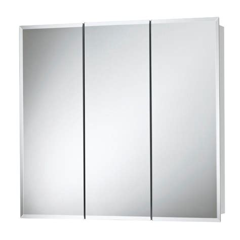 home depot medicine cabinet with mirror horizon 30 in w x 28 in h x 5 25 in d frameless surface