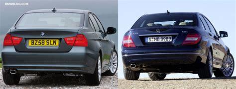 Photo Comparison Bmw 3 Series Sedan Lci Vs 2012 Mercedes
